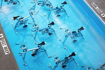 Aqua cycling