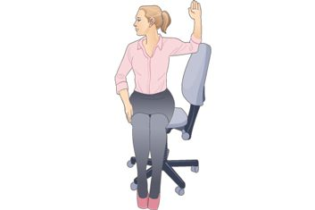 Seated Chest Stretch