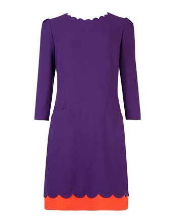 Ted Baker Scallop Detail Dress