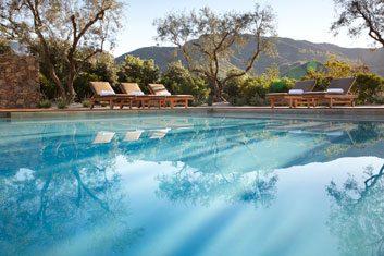 The destination: The Ranch at Live Oak, Malibu, California