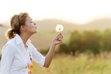 dandelion woman allergies
