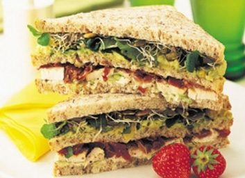 avocado chicken club