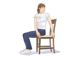 Low-back rotation stretch