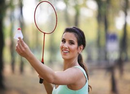 Get fit with badminton