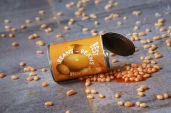 spilled beans