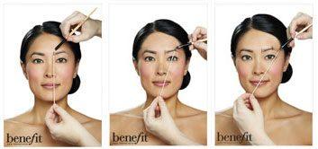 Benefit eyebrows
