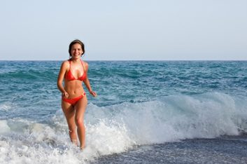 bikini ocean