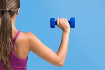 bone mass weight arm