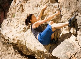 The benefits of bouldering