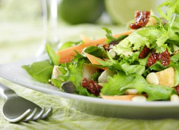 cancer and nutrition - salad
