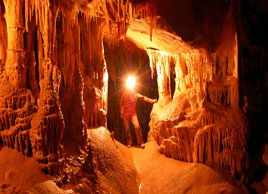 Caving for fun and fitness