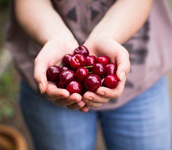cherries cherry juice