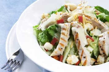 Swiss Chalet Chicken Caesar Salad