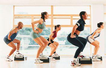 circuit training cardio fitness class