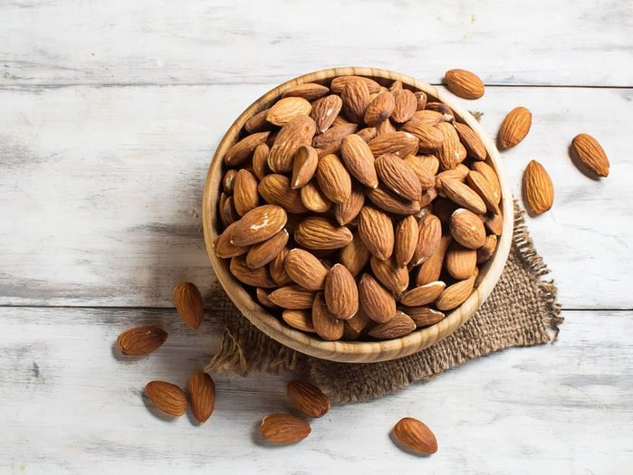 Eat Almonds for Smooth Nails