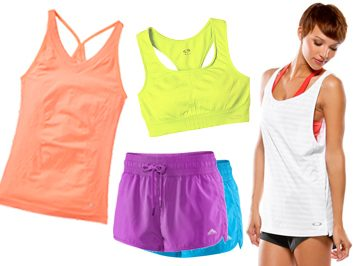 Colourful Fitness Wear