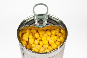 canned vegetable corn