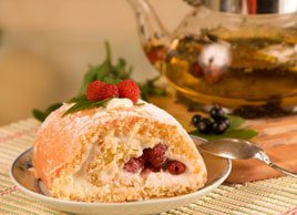 Goat's Cheese and Cranberry Strudel