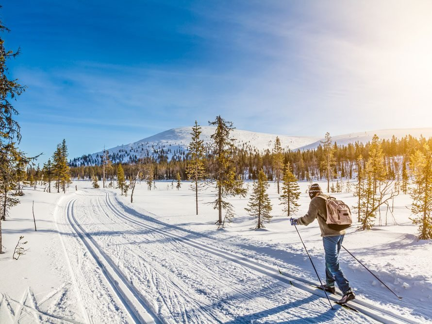 Benefits of skiing for strength