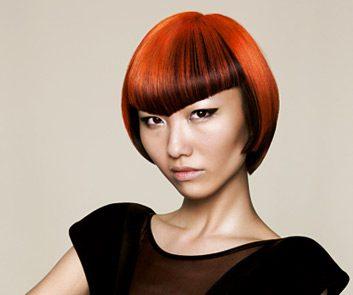 woman haircut