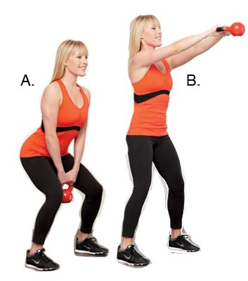 Double-Arm Swing: 1 minute