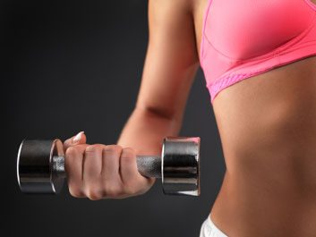 dumbbell weight exercise