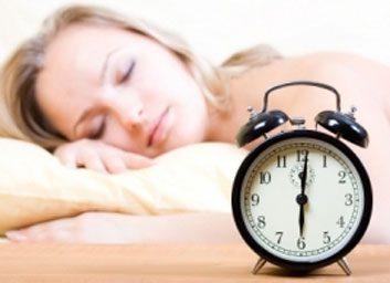 eight hours of sleep
