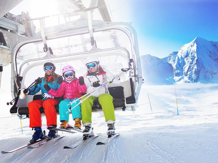 Benefits of skiing