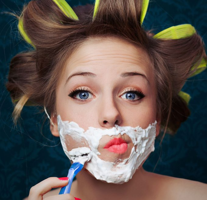Why Some Women are Shaving their Faces