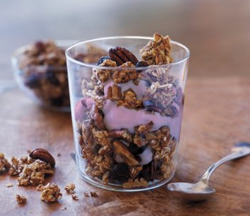Berry Granola Fool | granola recipes