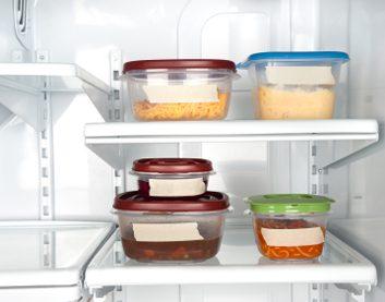 fridge tupperware