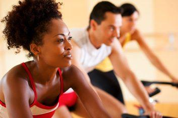 gym spinning