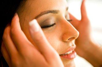 head massage spa relax
