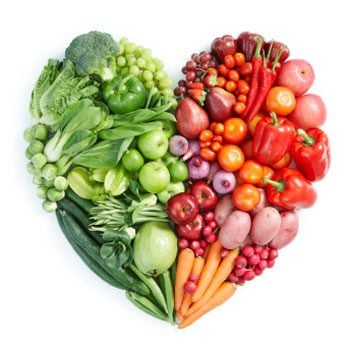 heart health fruits and veggies