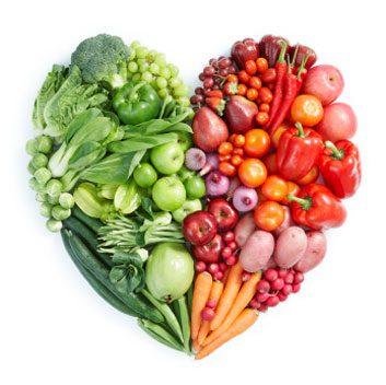heart health fruits and veggies
