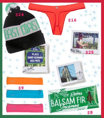 healthy holiday gifts
