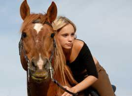 Fitness trend: Horseback riding