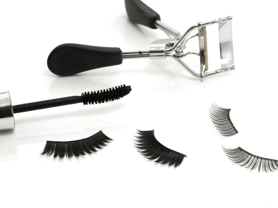 Fake a Full Fringe with False Eyelashes: Our How-To Tips