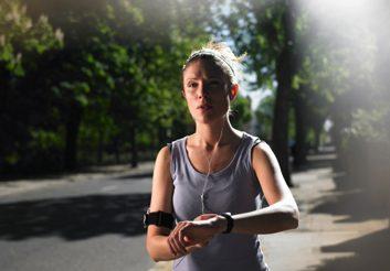 running interval workout