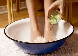 Natural home remedies: Foot odour