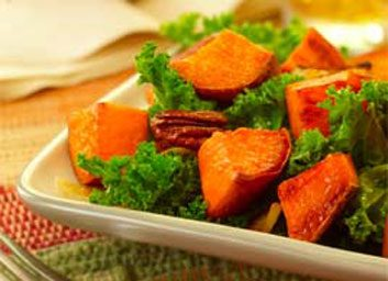 sweet potato and kale large