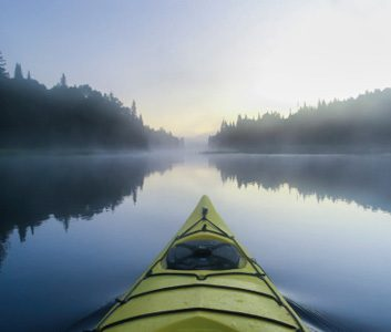 Fitness trend: Kayaking