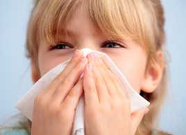 sick kid cold and flu