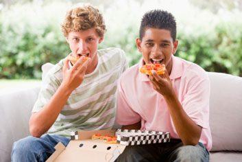 kidsjunkfoodpizzaschoolnutrition