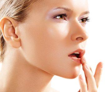 lip balm application