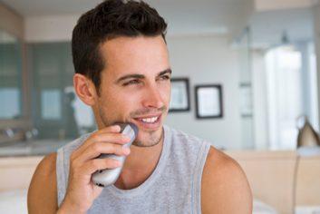male shaving men