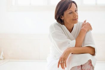 menopause mature woman