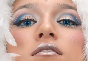 Beauty trend: Metallic chic