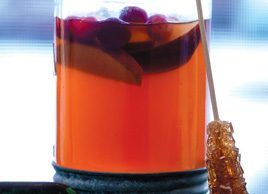 Mulled Cider and Cranberry