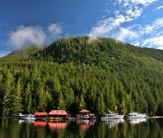 Nimmo Bay Wilderness Resort, British Columbia